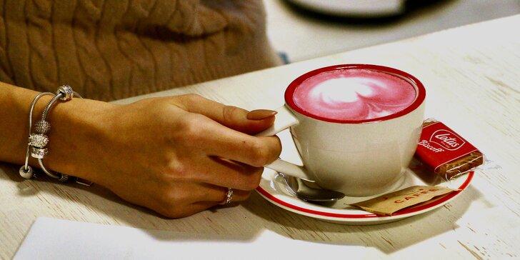 Káva, čaj, kakao nebo čokoláda třeba i s bábovkou či zákuskem pro 1 či 2