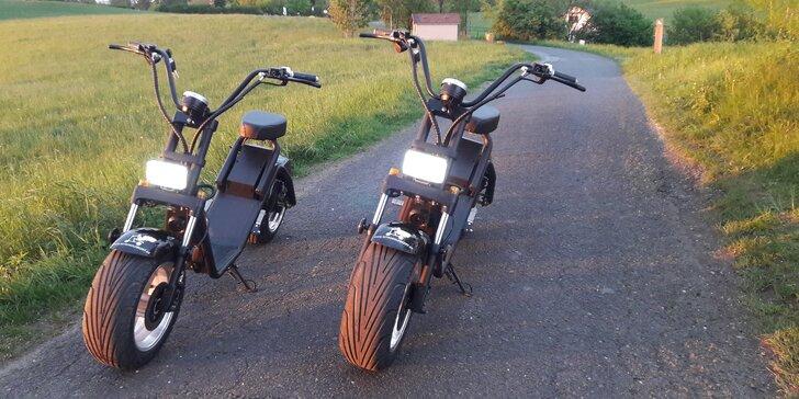 Objevujte krásy Beskyd na nitrokoloběžkách Harley style s dojezdem až 70 km