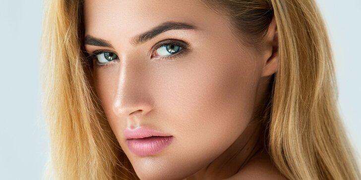 Francouzské liftingové kosmetické ošetření pleti ve studiu Greenline