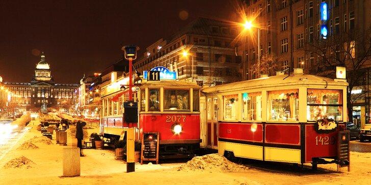 5* pobyt v centru Prahy: hotel přímo na Václavském náměstí, snídaně i večeře