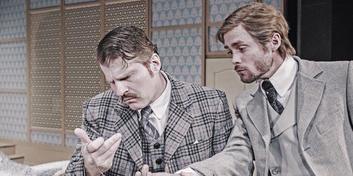 Vstupenka do Městského divadla Kladno na komedii Brouk v hlavě
