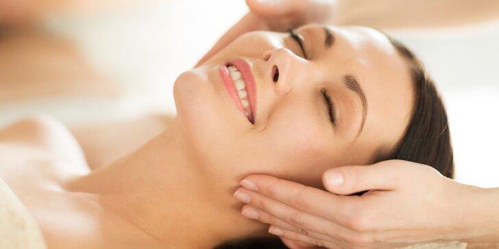 Nechte se hýčkat: Kosmetické ošetření pleti či antistresová masáž obličeje