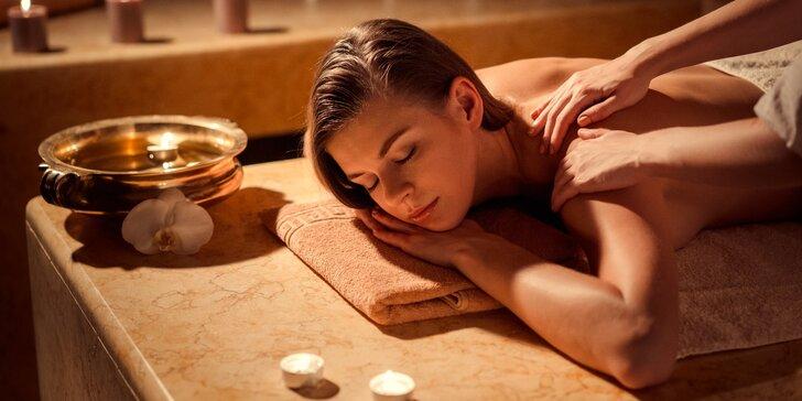 Dokonalá relaxace: voňavá aroma masáž na 30-120 minut