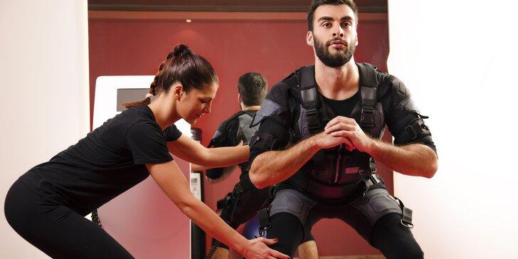 Zhubněte efektivně a zdravě: 1, 4 či 8 vstupů na fitness s elektrostimulací svalů