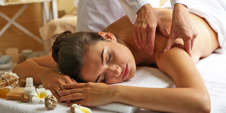 Relaxace po thajsku: masáže dle výběru na 30, 60 a 90 minut
