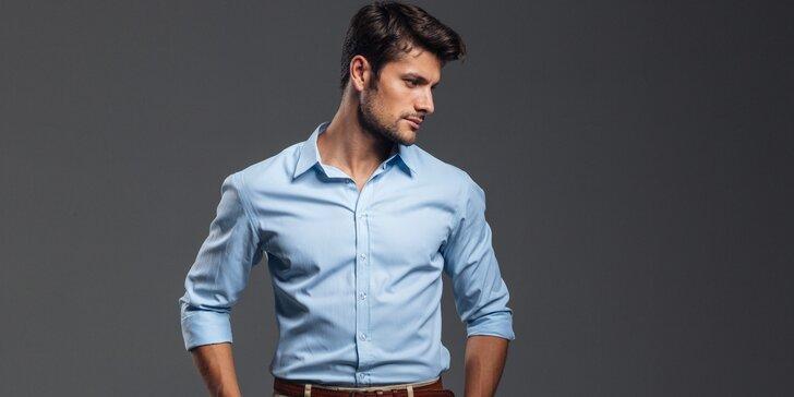 Oblečte svého milého do opravdového originálu: Luxusní košile šitá na míru