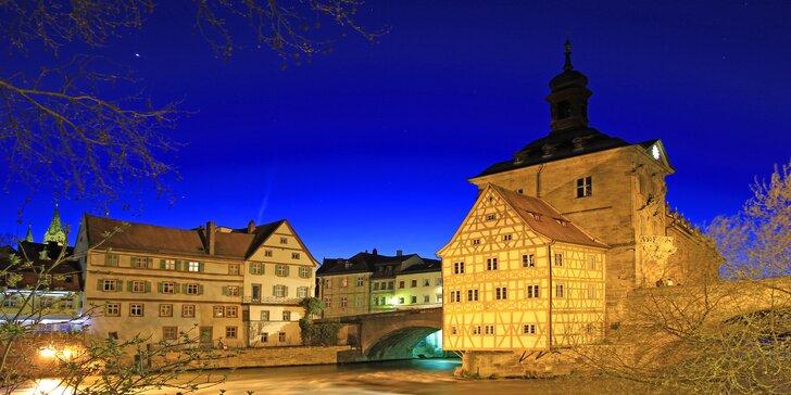Navštivte tradiční vánoční trhy v Bambergu a Norimberku s průvodcem