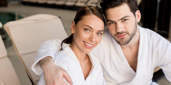 Čas pro relaxaci a romantiku: 90 nebo 120 minut v privátním wellness