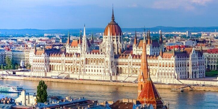 Jednodenní výlet za nejkrásnějšími památkami do romantické Budapešti