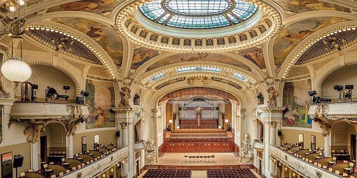 Klasické koncerty vážné hudby ve Smetanově síni Obecního domu v období únor–červen 2020