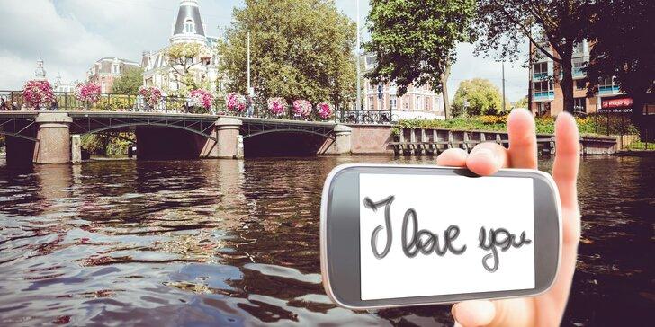 Oslavte Valentýna v Nizozemsku: hotel se snídaní, Amsterdam, Haag, plavba po kanálech