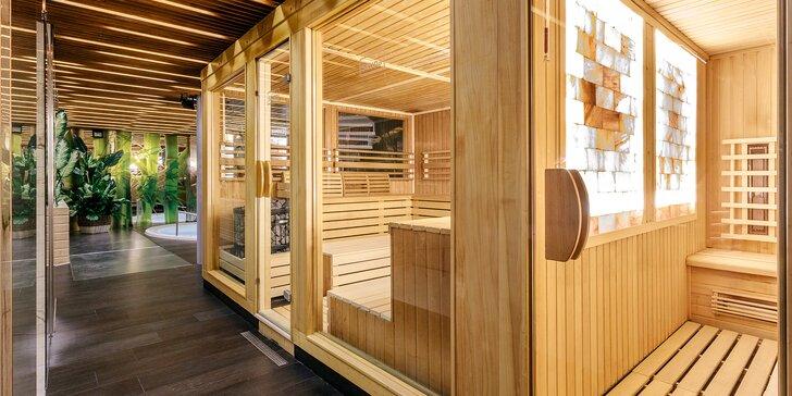 Čas na relaxaci: 90minutový vstup do saunového centra pro 1 nebo 2 osoby