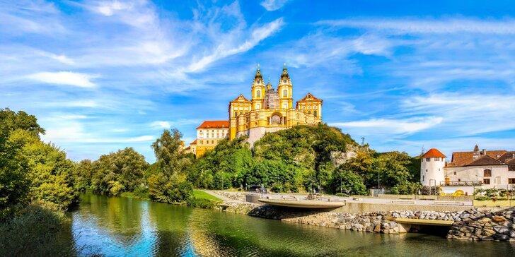 Jednodenní výlet do Rakouska s průvodcem: údolí Wachau, města Melk a Krems