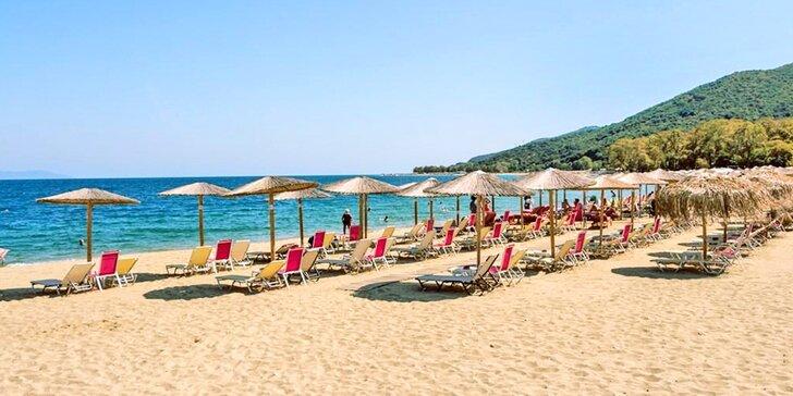 Autobusem na Chalkidiki do Řecka: ubytování s kuchyňkou i fakultativní výlety