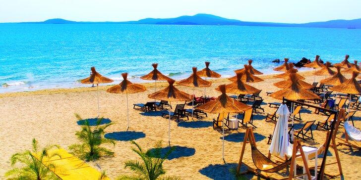 Na dovolenou do Bulharska: Zlaté Písky, 7 nocí, autobusová doprava, all inclusive a bazén