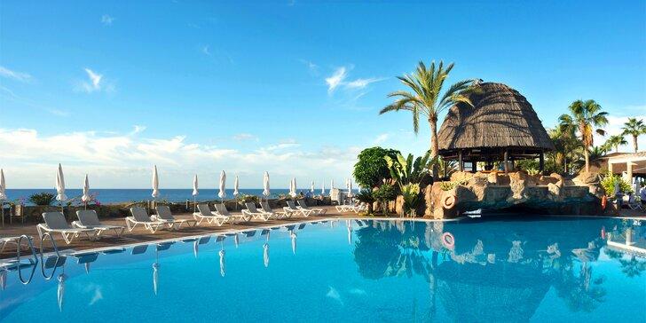 Zážitky i koupání na Gran Canarii: 4* hotel přímo u moře a s all inclusive