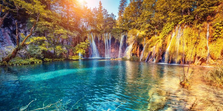 Národní parky a památky v Chorvatsku: ubytování s polopenzí i možnost výletu do Bosny a Hercegoviny
