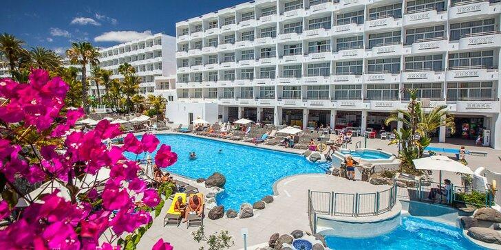 Elegantní hotel s all inclusive na Gran Canaria nedaleko písčité pláže i dun