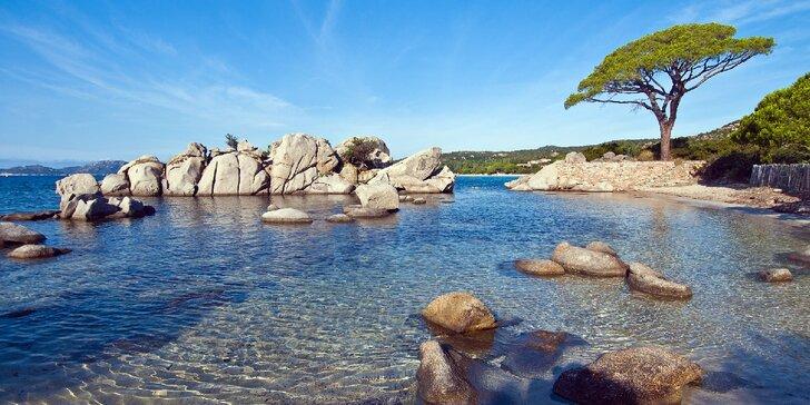 Za krásami Korsiky na 7 nocí: doprava, průvodce, výlety, bazén i relax na krásných plážích