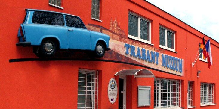 Prohlédněte si retro klasiku: vstupenky do muzea Trabantů pro malé i velké