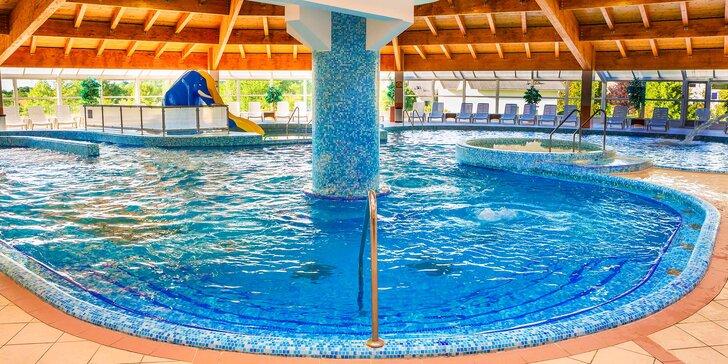 Zimní či jarní relax v maďarském resortu: vstup do lázní či neomezený wellness a možnost polopenze