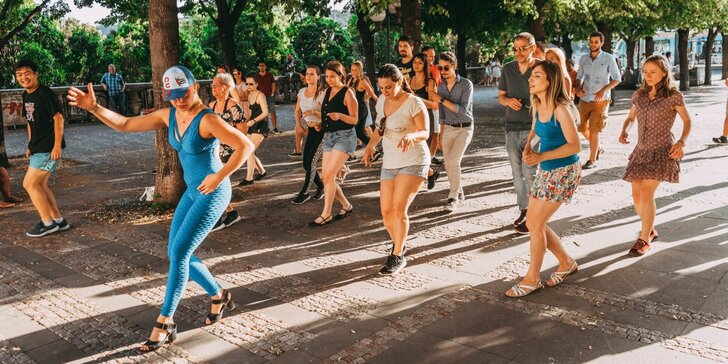 Kurz latinských tanců pro všechny začátečníky až mírně pokročilé