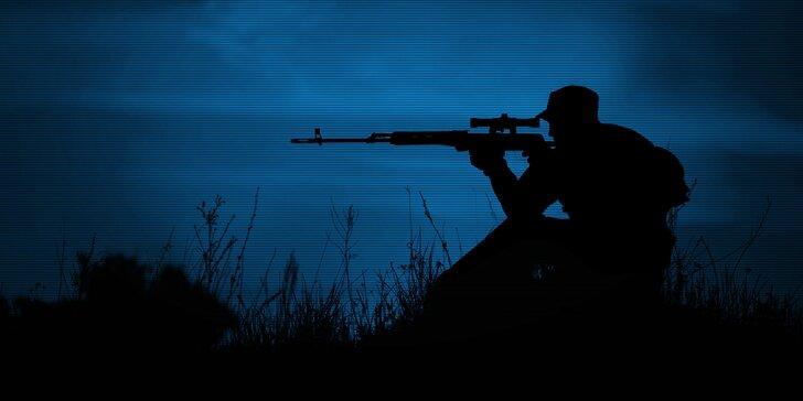 Zážitek jako žádný jiný: dobrodružný střelecký balíček Noční sniper