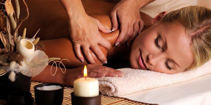 Uvolňující masáž podle výběru: Breussova i antistresová masáž