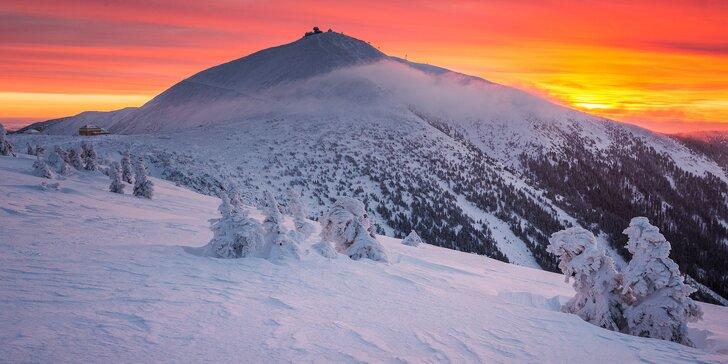 Ubytování v apartmánech v Krkonoších 900 metrů od skiareálu
