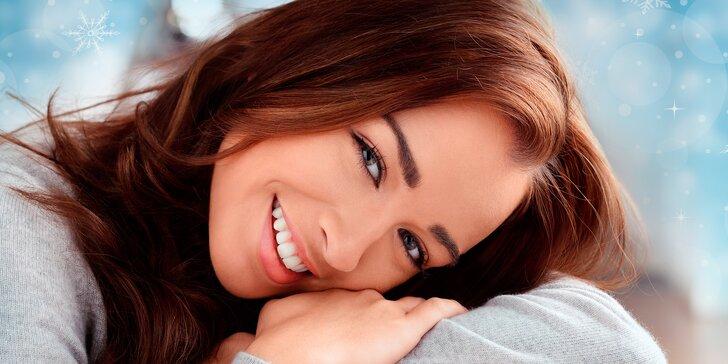 Relaxační a omlazující kosmetické ošetření pleti s masáží obličeje i dekoltu