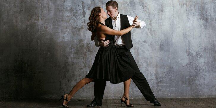 Vstupy na otevřené lekce klasických i latinskoamerických tanců pro jednotlivce i páry