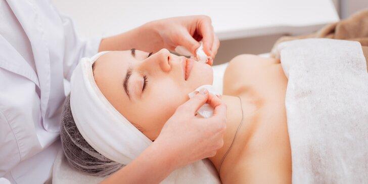 Kosmetické ošetření: express, antistress, kombinované čistění i chemický peeling