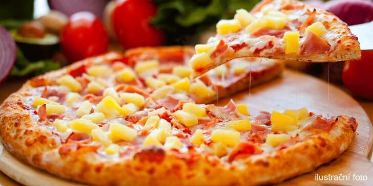 Pochutnejte si na 1 nebo 2 pizzách: výběr pro masožravce i vegetariány