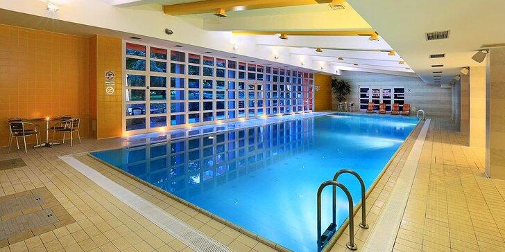 4* hotel v Praze: snídaně, bazén a sauna a 15 minut metrem na Václavské nám.