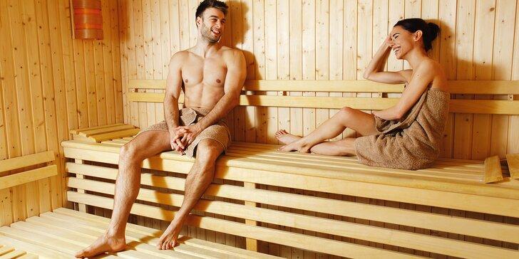60 nebo 75 min. privátního wellness v centru Brna: sauny, vířivka i relax se sektem