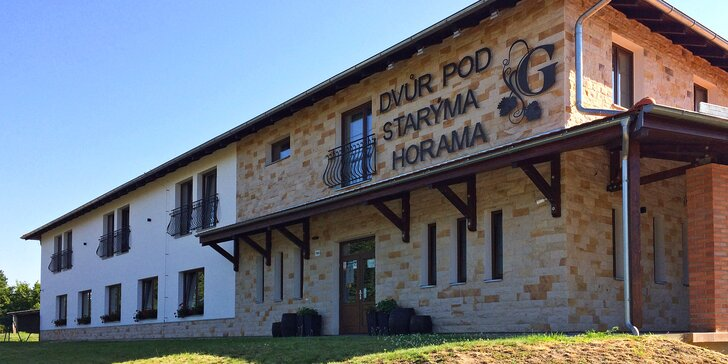 Zážitkový vinařský pobyt na Slovácku: famózní víno, degustace i wellness