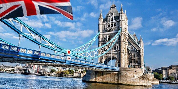 6denní autobusový zájezd do Paříže a Londýna se 3 nocemi v hotelu