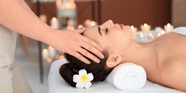 Luxusní balíček: 80 minut relaxu s masáží a lázní v salonu Diamond Spa