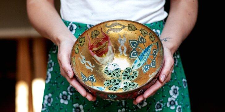 Kurz techniky decoupage: vyrobte si misku, vázu či lampu do bytu nebo jako hezký dárek