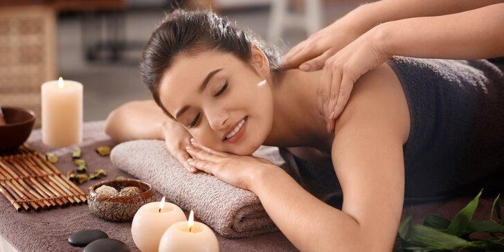 Exotické uvolnění: hodinová thajská masáž v solné jeskyni