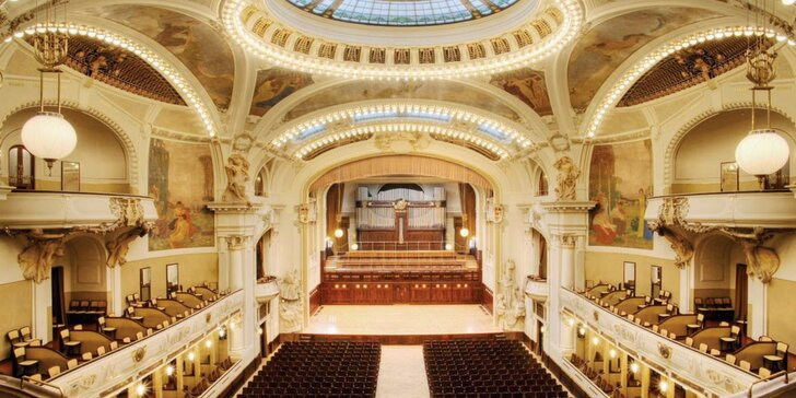Exklusivní galakoncert ve Smetanově síni Obecního domu