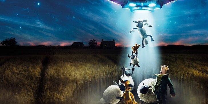 2 vstupenky na rodinný animovaný film Ovečka Shaun ve filmu: Farmageddon
