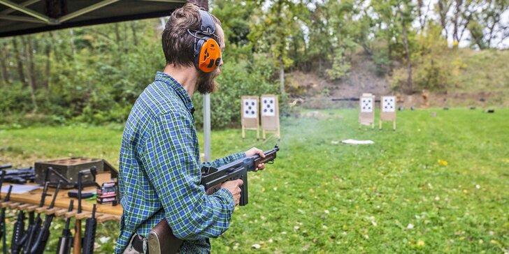 Střelecké balíčky dle typů zbraní: revolvery, pistole, krátké i dlouhé a až 129 nábojů