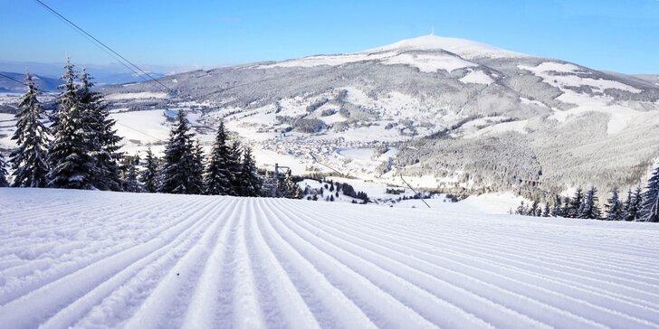 Na lyže do Nízkých Tater: celodenní skipas do lyžařského střediska Ski Telgárt