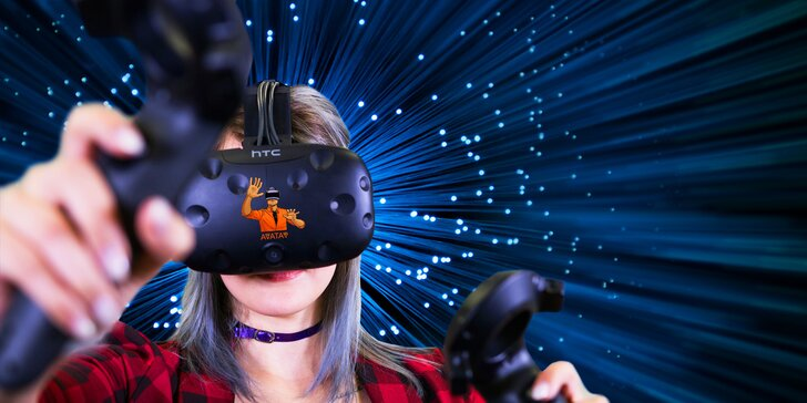 Úžasné světy bez hranic: virtuální realita na 60 minut až pro 5 osob