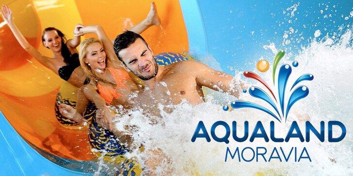 Jarní prázdniny v Aqualandu Moravia: celodenní vstup do bazénů, na tobogany i do wellness