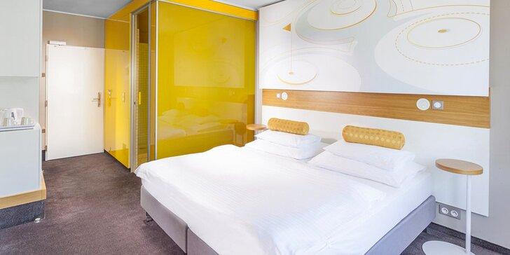 Krásný 4* hotel na dosah centra Prahy: večeře i wellness procedury