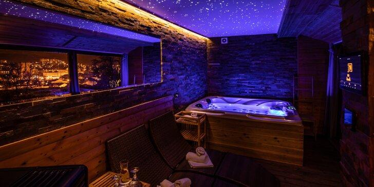 Wellness relaxace v Moravském krasu: luxusní apartmány a polopenze