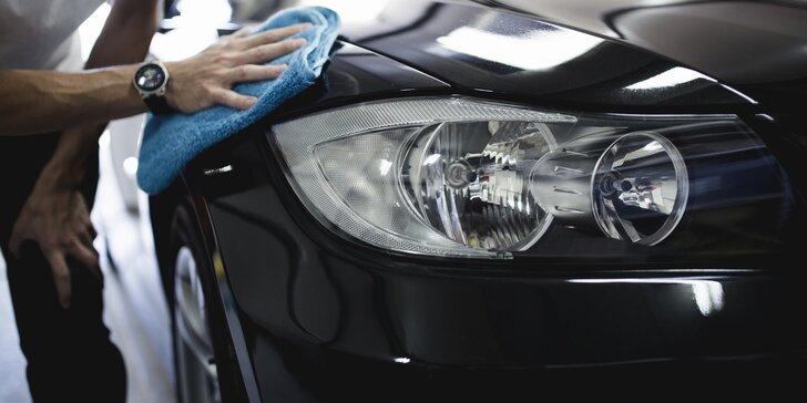 Myčka aut v centru Prahy: mytí karosérie a ošetření pneu i kompletka s hloubkovým čištěním sedaček