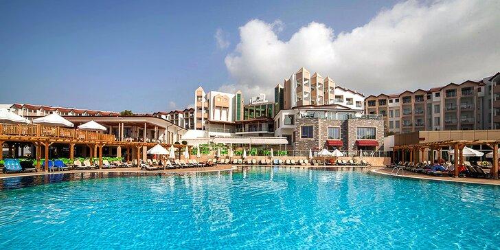 Koupání v moři i antické památky v Side. 5* Arcanus Side Resort s all inclusive
